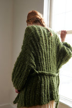 Load image into Gallery viewer, DIY Kit - Fisherman Rib Cardigan - Mohair So Soft