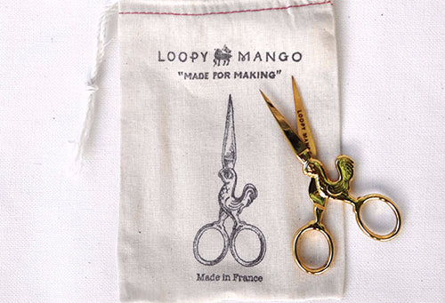 Loopy Mango Golden Chicken Scissors