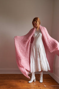 Mohair Blanket PATTERN- Mohair So Soft