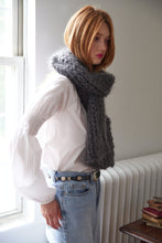 Load image into Gallery viewer, Fisherman Rib Scarf - Mohair