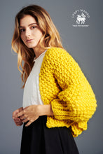 Load image into Gallery viewer, Super Cropped Cardigan PATTERN- Merino No. 5