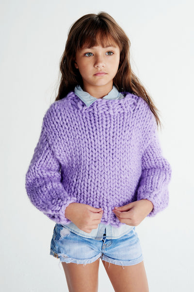 Mini Sweater 6-8 years - Merino