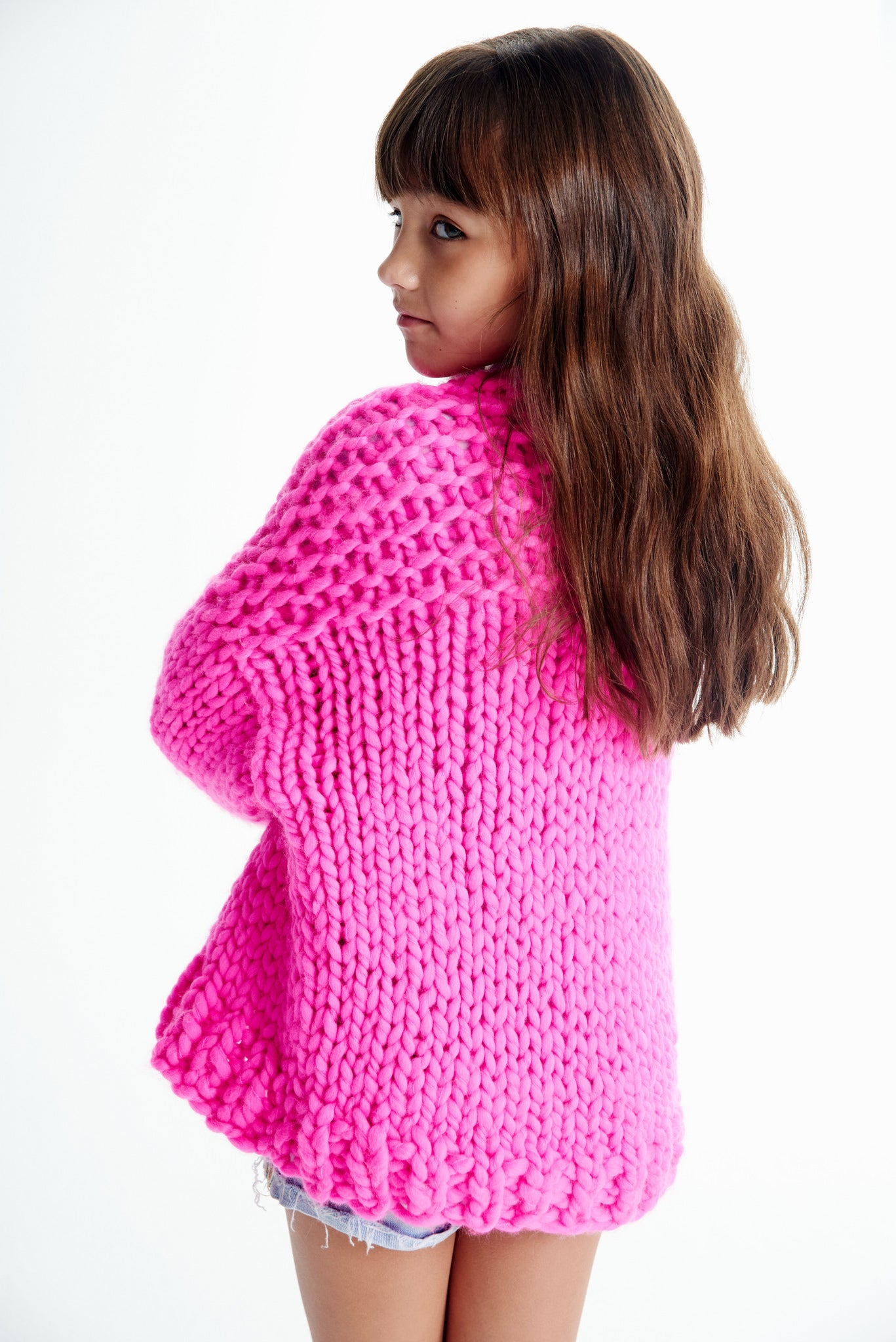 Mini Cardi 6-8 years - Merino