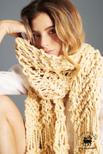 Load image into Gallery viewer, DIY Kit - Summer Fringe Scarf - Big Cotton