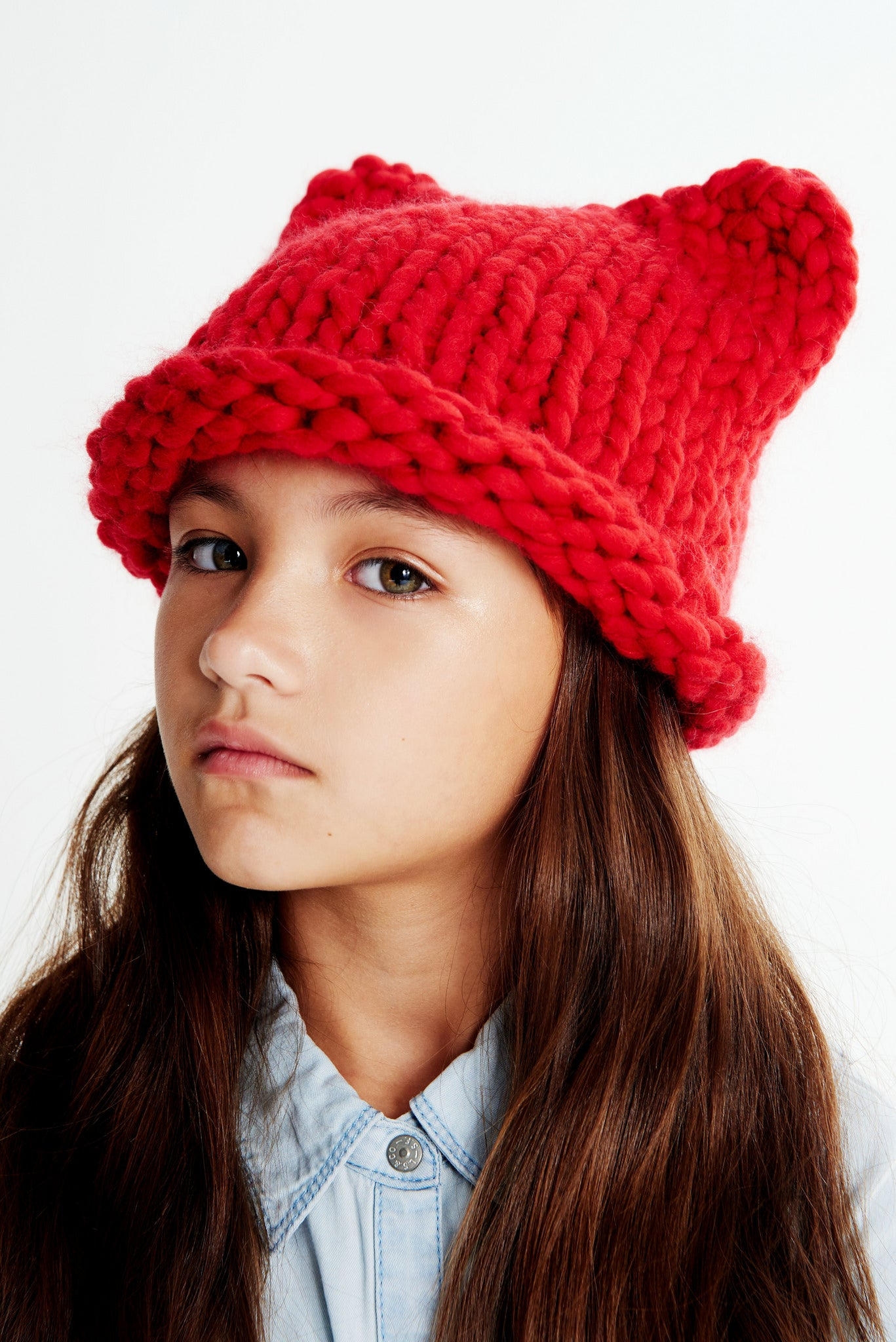 Mini Kitty Hat 5-8 years - Merino