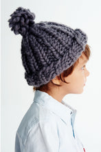 Load image into Gallery viewer, Mini Pompom Beanie 2-4 years-Merino