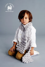 Load image into Gallery viewer, DIY Box Kit - Mini Scarf 1-8 years old - Merino No. 5