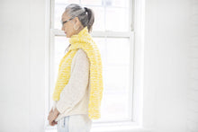 Load image into Gallery viewer, DIY Kit - Mixed Garter Stitch Scarf - Merino Worsted