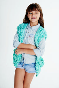 Mini Vest 6-8 years - Merino