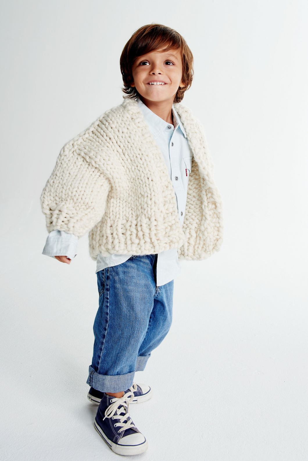 Mini Cardi 2-4 years - Merino