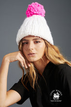 Load image into Gallery viewer, Pompom Beanie - Merino