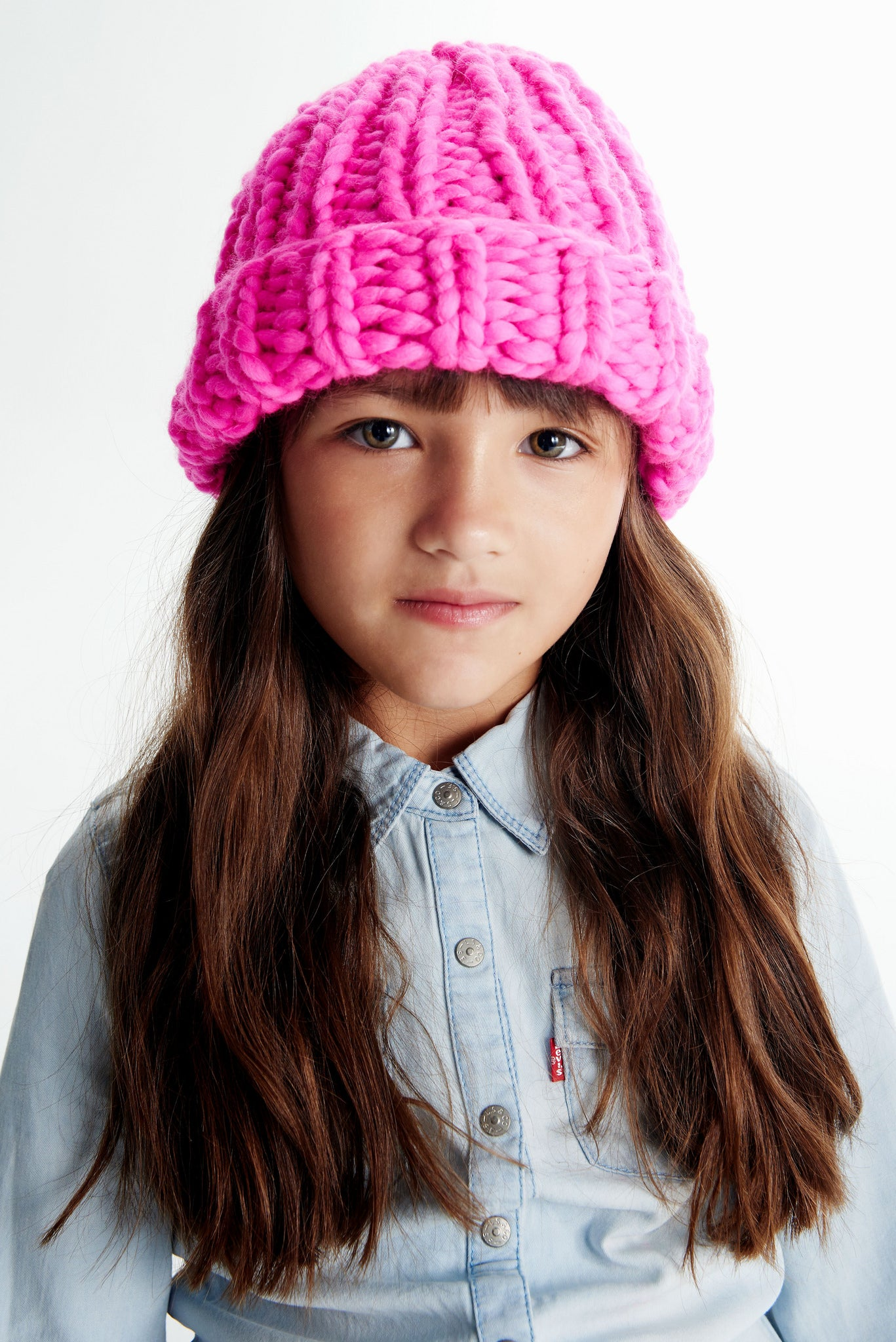 Mini Beanie 5-8 years - Merino