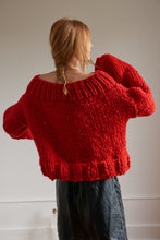 Load image into Gallery viewer, DIY Kit - Off the Shoulder Sweater - Merino No. 5