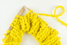 Load image into Gallery viewer, Maple Wood & Brass Knitting Needles US13, US15, US17 or US19