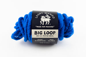 DISCONTINUED COLOR - Big Loop 10oz. Mini Merino Wool - Electric Blue