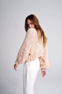 Super Cropped Cardigan - Cotton