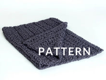 Load image into Gallery viewer, Crochet Baby Blanket PATTERN- Merino No. 5