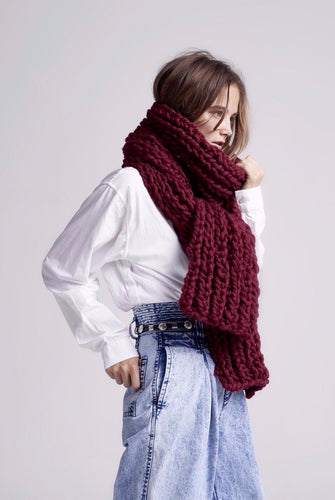 READYMADE Long Fisherman Rib Scarf - Merino-SALE