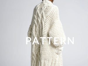 Rockstar Coat PATTERN- Merino No. 5