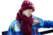 Load image into Gallery viewer, READYMADE Fisherman Rib Scarf - Merino-SALE