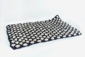 DIY Kit - Aster Flower Throw - Merino No. 5