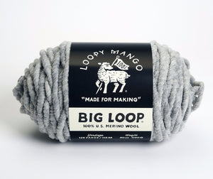 Big Loop Yarn Merino Wool
