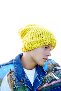DIY Kit - Slouchy Beanie - Men's - Merino No. 5