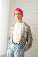 Load image into Gallery viewer, Super Cropped Cardigan - Cotton