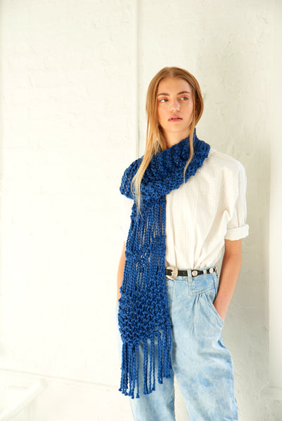 Summer Fringe Scarf - Cotton
