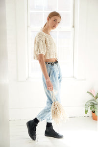DIY Kit - Puff Sleeve Crop Top - Big Cotton
