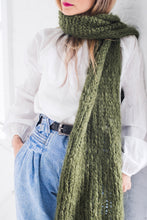 Load image into Gallery viewer, DIY Kit - Stockinette Scarf - Mohair So Soft