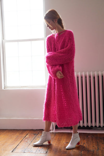 Long Dress - Mohair