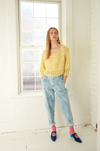 READYMADE Super Cropped Sweater - Cotton-SALE