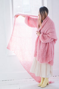 DIY Kit - Blanket - Mohair So Soft