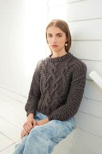 DIY Kit - Cotton Urban Fisherman Sweater - Big Cotton
