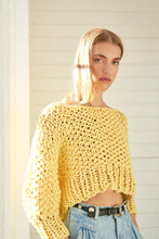 Load image into Gallery viewer, Super Cropped Sweater - Cotton