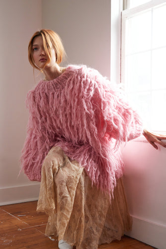 Shaggy Sweater - Mohair