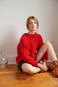 DIY Kit - Sweater - Mohair So Soft