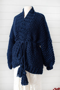 DIY Kit - Free Spirit Cardigan - Merino No. 5