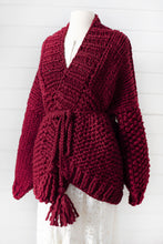 Load image into Gallery viewer, DIY Kit - Free Spirit Cardigan - Merino No. 5