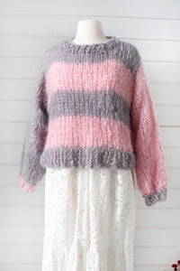 Lucky Stripe Sweater - Mohair So Soft