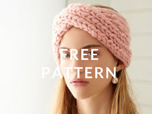 Load image into Gallery viewer, FREE Holiday Headband PATTERN - Merino No. 5