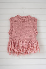 Load image into Gallery viewer, Fringe Vest PATTERN- Merino No. 5