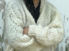 Load image into Gallery viewer, DIY Kit - Rhinebeck Cardigan - Mohair So Soft