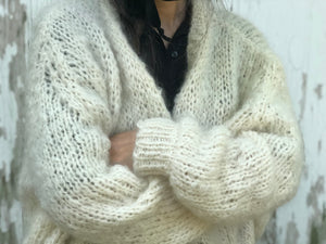 DIY Kit - Rhinebeck Cardigan - Mohair So Soft