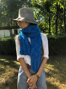 DIY Kit - My First Cable Scarf - Merino No. 5