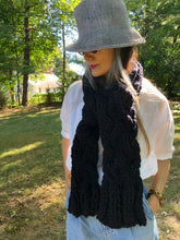 Load image into Gallery viewer, DIY Kit - My First Cable Scarf - Merino No. 5