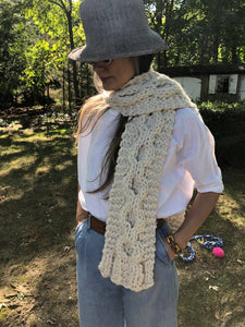 DIY Kit - New Wave Scarf - Merino No. 5