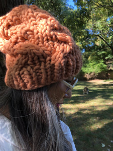 Knitting 102 - My First Cable Hat Class