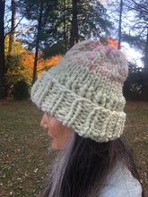 Load image into Gallery viewer, DIY Kit - Edelweiss Hat with 2 colors - Merino No. 5